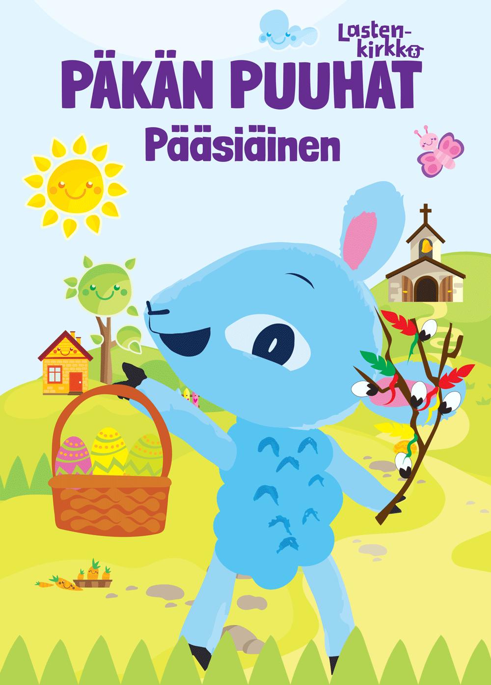 Lehden kansi, jossa lukee Päkän puuhat.